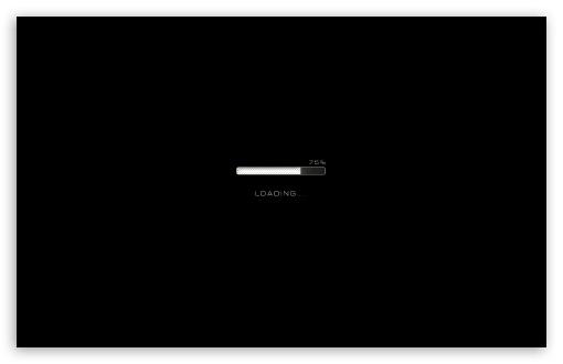 Download Loading UltraHD Wallpaper