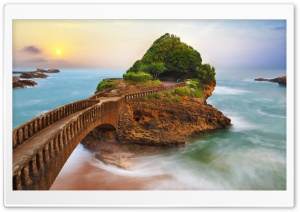 The Basta Rock Sunrise 4K