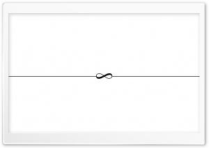 Infinity Symbol White Background