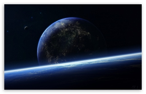 Download Surface Of The Planet UltraHD Wallpaper