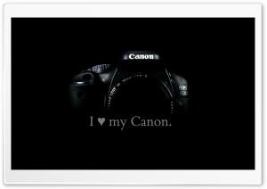 I love my Canon.