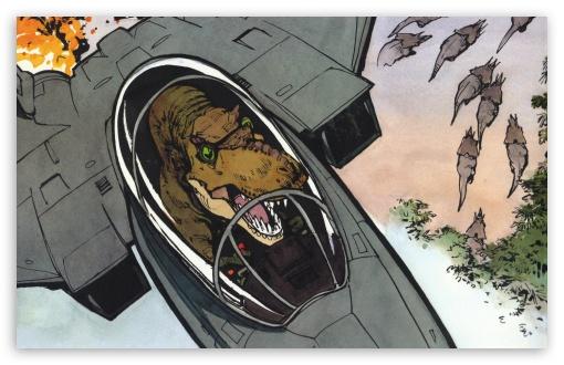 Download Dinosaur Cartoon UltraHD Wallpaper