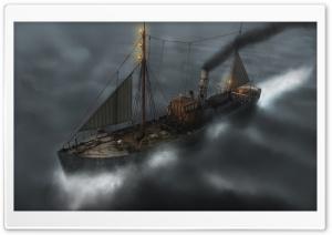 Ship On The Ocean Fantasy