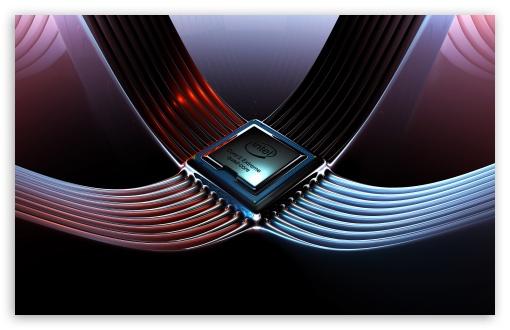 Download Intel Core 2 Extreme Quad Core UltraHD Wallpaper