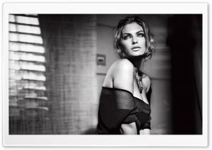 Beautiful Woman Monochrome