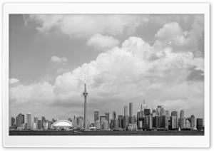 Panoramic View Toronto Skyline