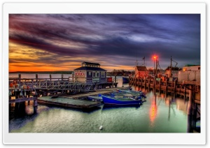 Plymouth Harbor HDR