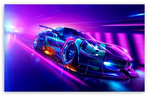 Download Need for Speed Heat Video Game, Car UltraHD Wallpaper