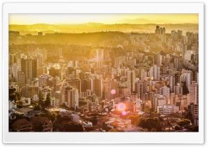 Yellow Sunset City