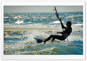 Kite Surfing   Renesse, Zeeland