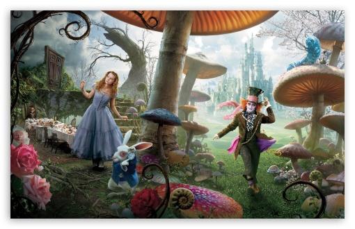 Download Alice In Wonderland Movie UltraHD Wallpaper