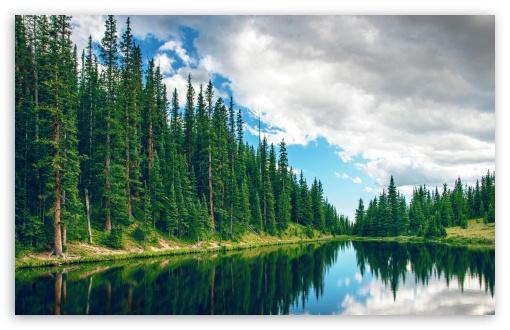 Download Irene Lake, Colorado UltraHD Wallpaper