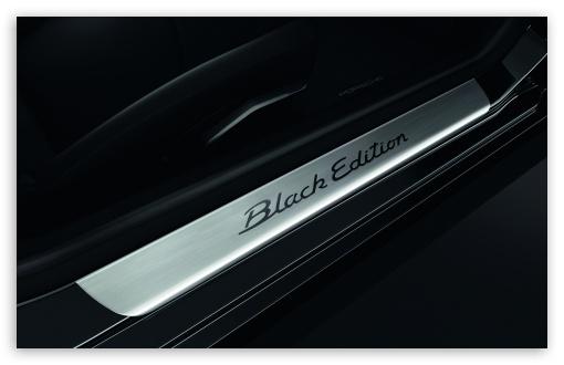 Download Porsche Black Edition UltraHD Wallpaper