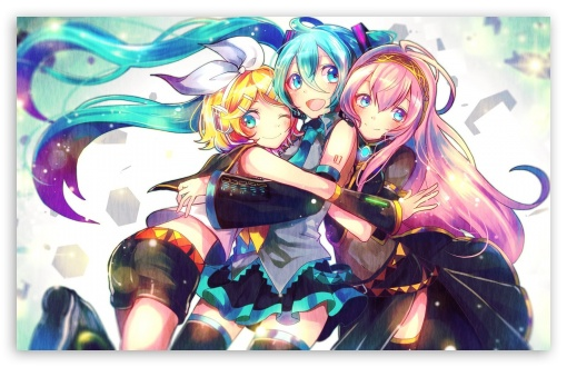 Download Cool Vocaloid Anime UltraHD Wallpaper