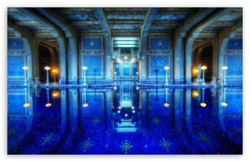 Download Hearst Castle Pool UltraHD Wallpaper