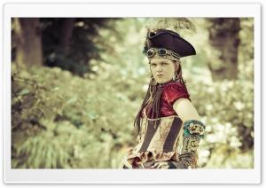 Steampunk Pirate Girl