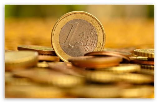 Download Euro Cents UltraHD Wallpaper