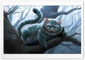 Cheshire Cat Artwork, Alice...