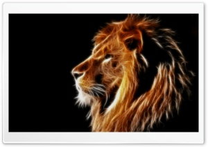 Glowing Lion