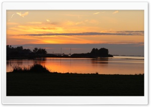 Sunset at the Grevelingen...