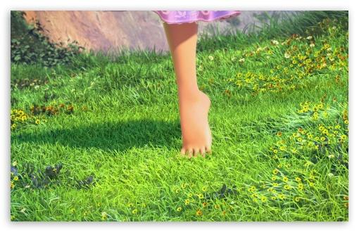 Download Rapunzels Foot UltraHD Wallpaper
