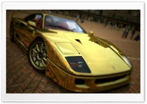 Ferrari F40 Gold