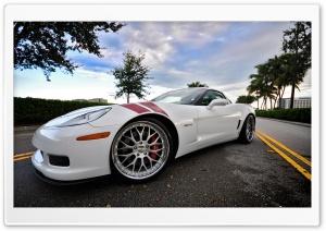 Chevrolet Corvette White