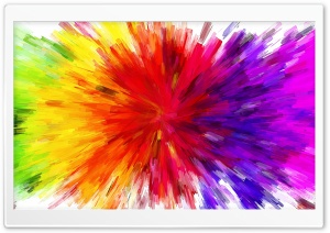 Color Burst Painting
