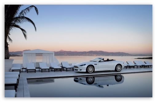 Download Aston Martin DB9 Volante Convertible UltraHD Wallpaper