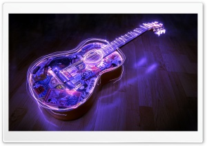 Guitar, Creative Art