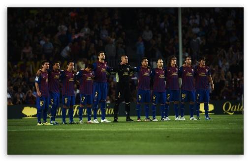 Download Soccer Team UltraHD Wallpaper