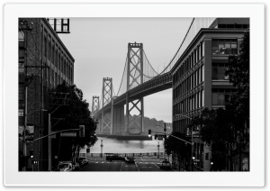 Bay Bridge San Francisco City...