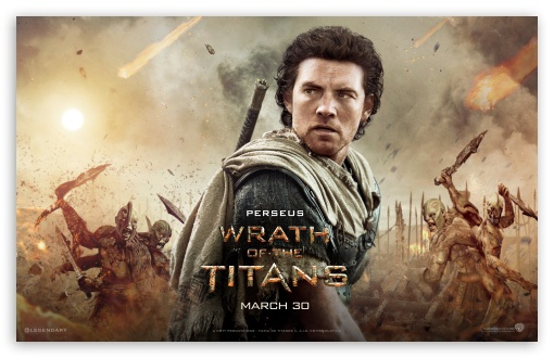 Download Wrath Of The Titans Perseus UltraHD Wallpaper
