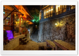 Climbing the Steps - Lijiang,...