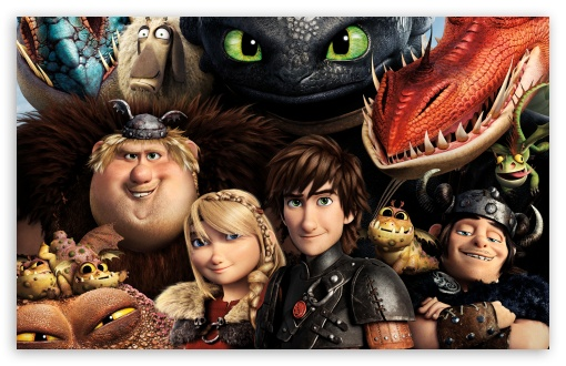 Download How to Train Your Dragon 2 Dragons UltraHD Wallpaper