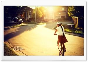 Biking Along