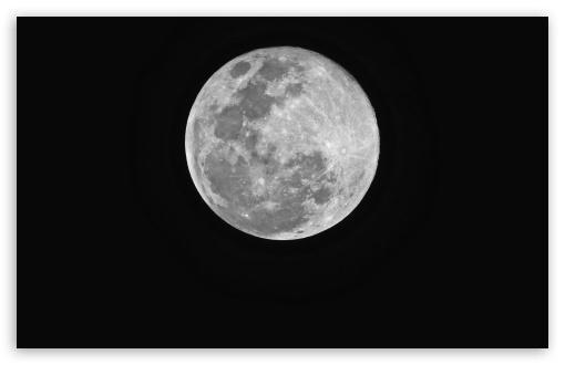 Download Super Moon UltraHD Wallpaper