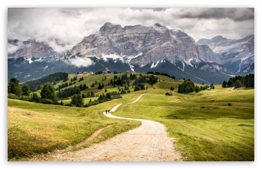 Download Beautiful Mountain Landscape, Dolomites, Italy UltraHD Wallpaper