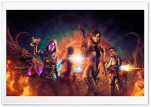 Mass Effect Artwork
