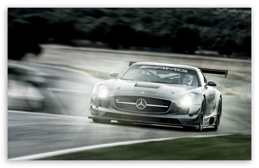 Download Mercedes Benz SLS GT3 UltraHD Wallpaper