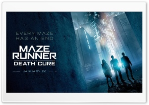 2018 Maze Runner The Death Cure