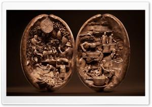 Coffee Bean Sculpture, Food...