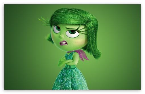 Download Inside Out 2015 Disgust - Disney, Pixar UltraHD Wallpaper