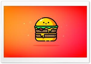 Cute Double Cheeseburger -...