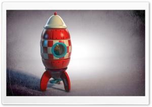 Wooden Rocket