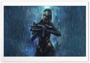Human Cyborg Girl