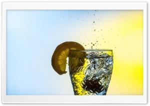 Cold Water Lemon Glass