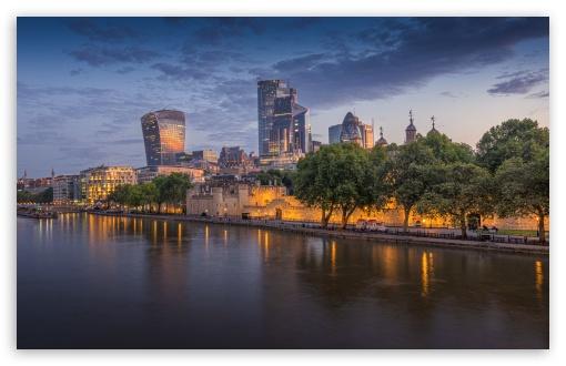 Download River Thames, London UltraHD Wallpaper