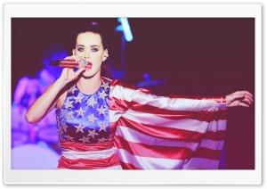 Katy Perry American Flag Dress