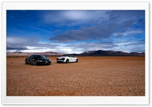 Audi R8 In The Desert
